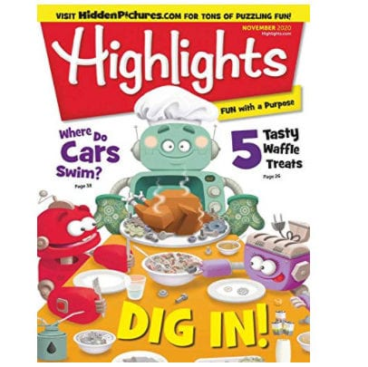 Highlights for Children 4 Month Subscription Only <img src=