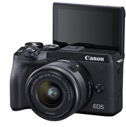 Canon EOS M6 Mark II Mirrorless Camera + 15-45mm Lens Now 9 (Was 00)