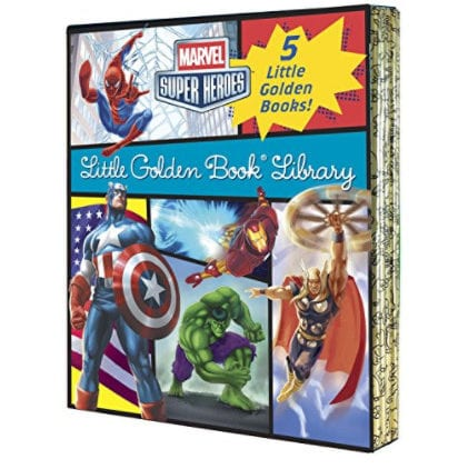 Marvel Little Golden Book Library Now .49 (Was .95)