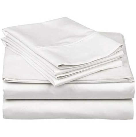 True Luxury 1000-Thread-Count 100% Egyptian Cotton Bed Sheets Now .49