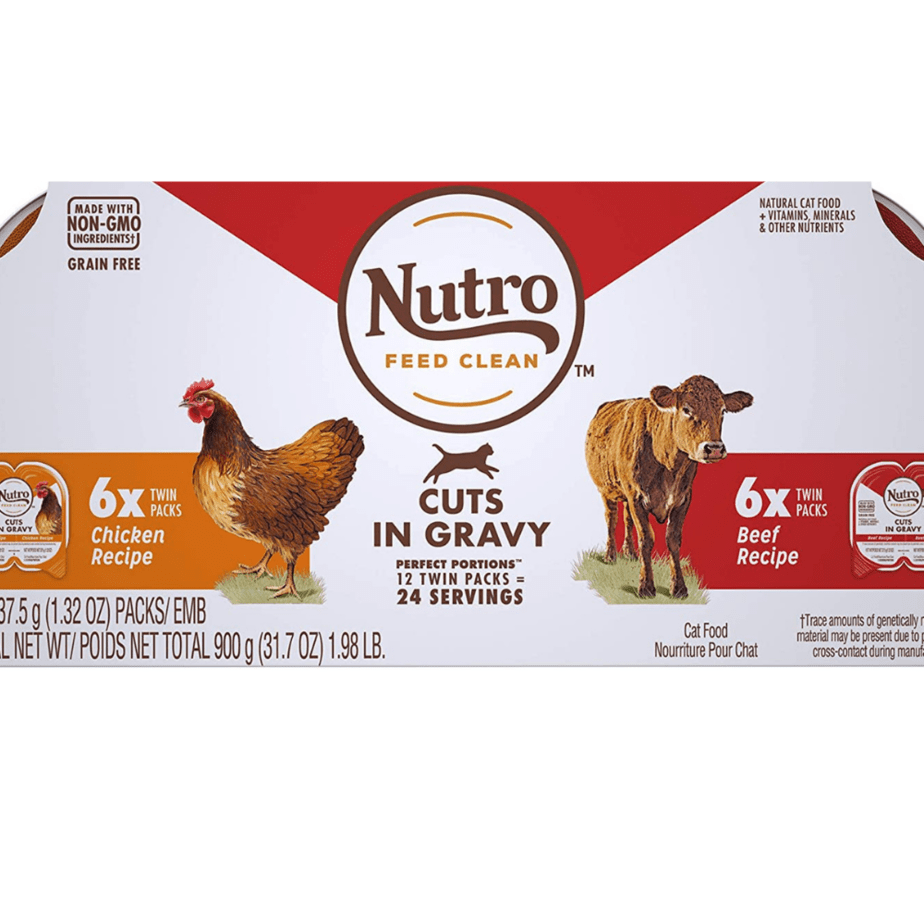 NUTRO Grain Free Natural Soft Wet Cat Variety Pack Now .16