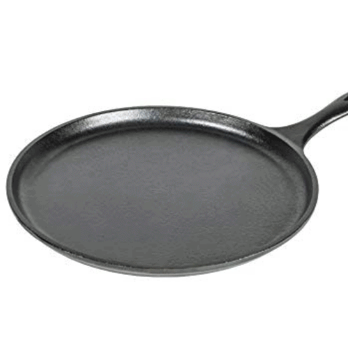 Lodge Pre-Seasoned Cast Iron Griddle10.5 Inch Now .98 (Was .18)