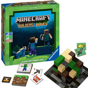 Ravensburger Minecraft: Builders & Biomes Strategy Board Game Now .44 (Was .99)