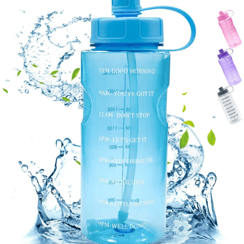 Large Motivational 64 OZ Water Bottle Now .79 (Was .98)