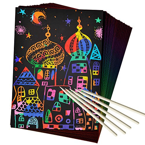 ZMLM Scratch Paper Art Set Now .49 (Was .95)