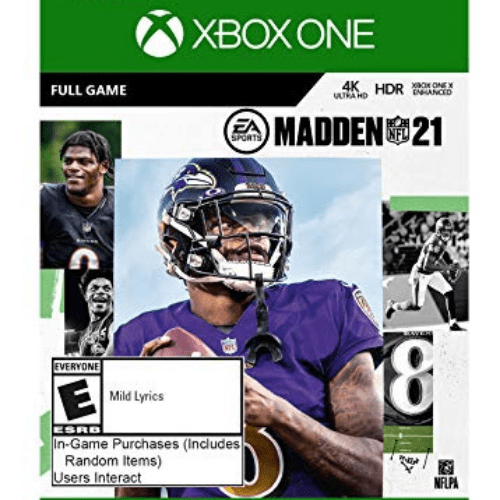 Madden NFL 21: Standard Edition Xbox One Now .99 (Was .99)