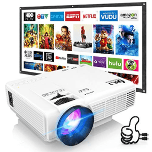 DR. J Professional Outdoor Movie Projector Now .99