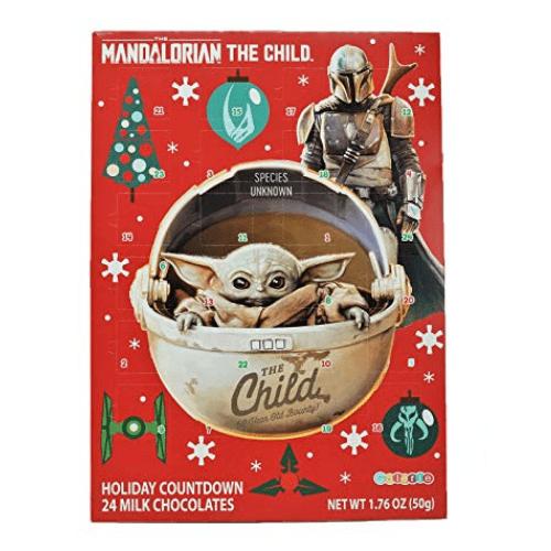 Star Wars The Mandalorian The Child Milk Chocolate Advent Calendar Now .88 (Was .82)