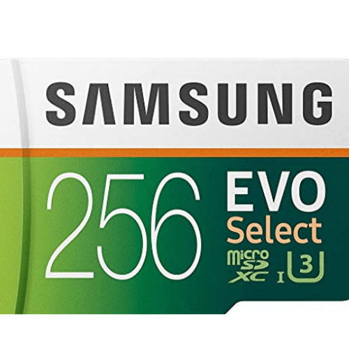 Samsung Electronics EVO Select 256GB microSDXC Now .99 (Was .99)