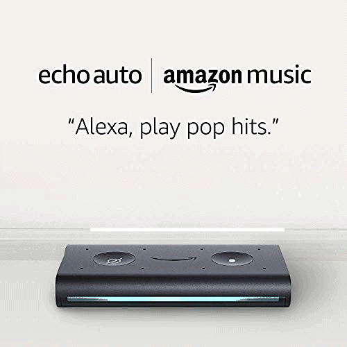 Echo Auto and 6 Months of Amazon Music Unlimited Now .99