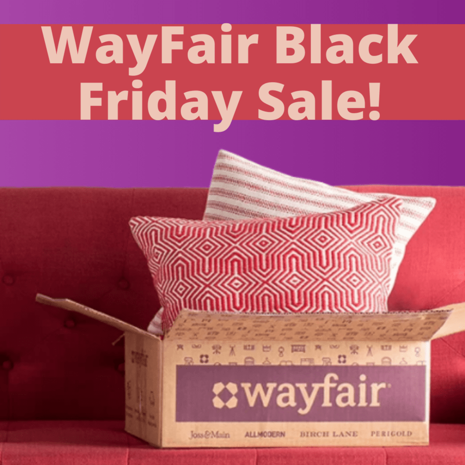 Wayfair Black Friday Sale is LIVE