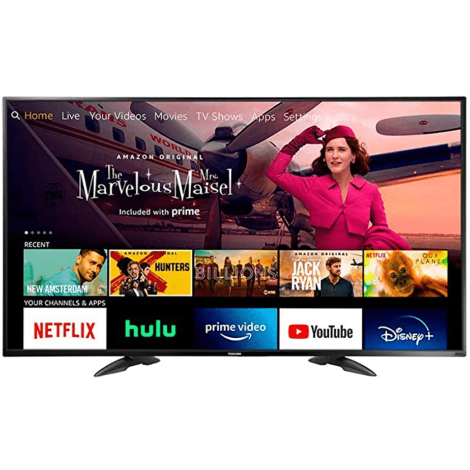 Toshiba 43-inch 4K UHD TV - Fire TV Edition Now 9.99 (Was 9.99)