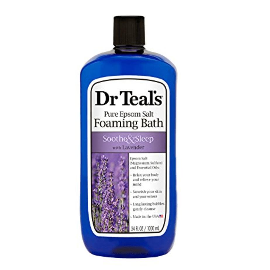 Dr Teal's Soothe & Sleep Foaming Bath with Pure Epsom Salt Now .67
