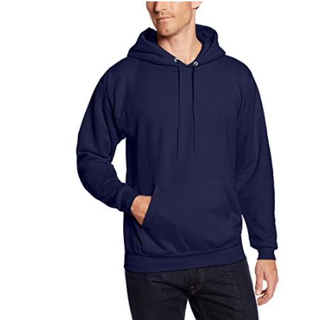 Hanes Mens Pullover Ecosmart Fleece Hooded Sweatshirt Now .50 (Was )