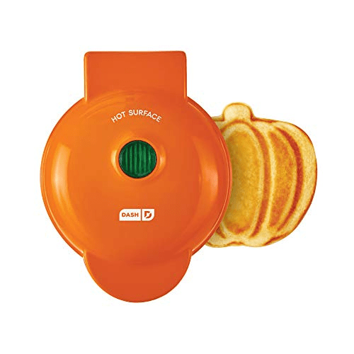 Dash Mini Pumpkin Waffle Maker Now .99 (Was .99)