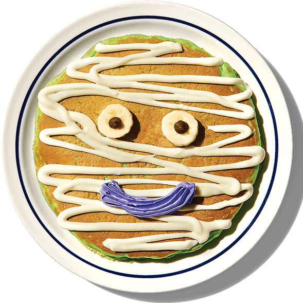 FREE Mr. Mummy Pancake at IHOP