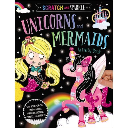 Scratch and Sparkle Unicorns Activity Book Now $3.59 (Was $6.99)