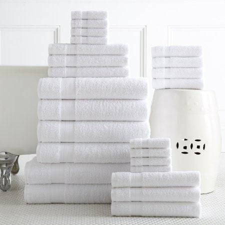 Addy Home Best Value 24PC Bath Towel Set Now .98 (Was )