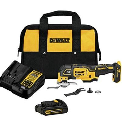 DEWALT 20V MAX XR Oscillating Tool Kit, 3-Speed Now .00 (Was 9)