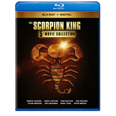 Scorpion King: 5-Movie Collection Blu-ray Now .99 (Was .80)