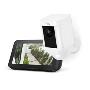 Ring Spotlight Cam with Echo Show 5 Now 9.99 (Was 8.99)