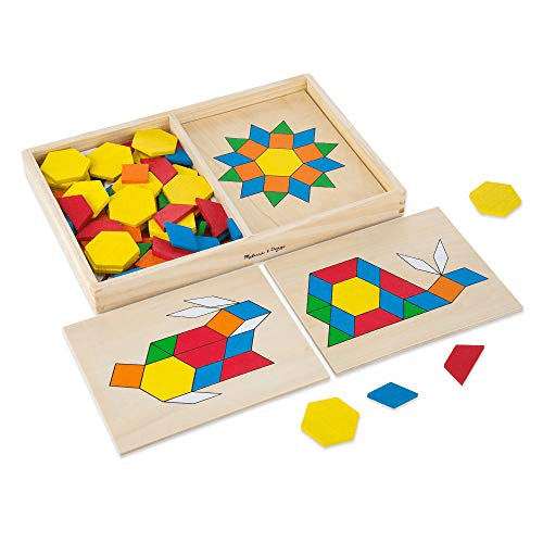 Melissa & Doug Pattern Blocks and Boards Now .92 (Was .99)