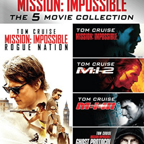 Mission: Impossible: The 5 Movie Collection [Blu-ray] Now .29 (Was .99)