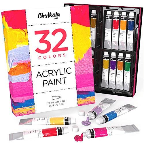 Acrylic Paint Set 32 Colors Now .80 (Was .95)