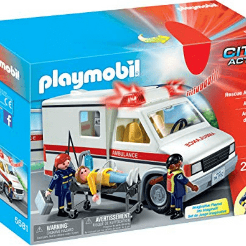 PLAYMOBIL Rescue Ambulance Now .09 (Was .99)