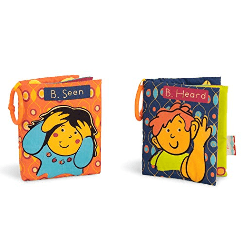 B. toys by Battat Two Soft Baby Books Now .43 (Was .99)