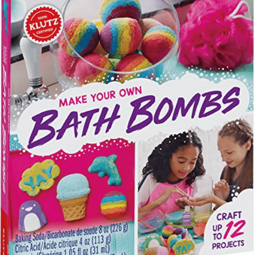 Klutz Make Your Own Bath Bombs Craft Kit Now .47 (Was .99)
