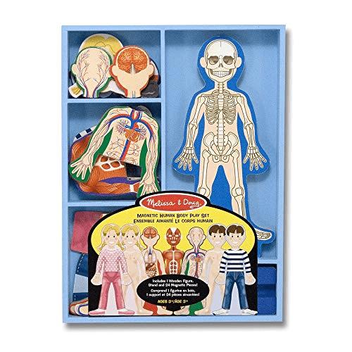Melissa & Doug Magnetic Human Body Play Set Now .99 (Was .99)