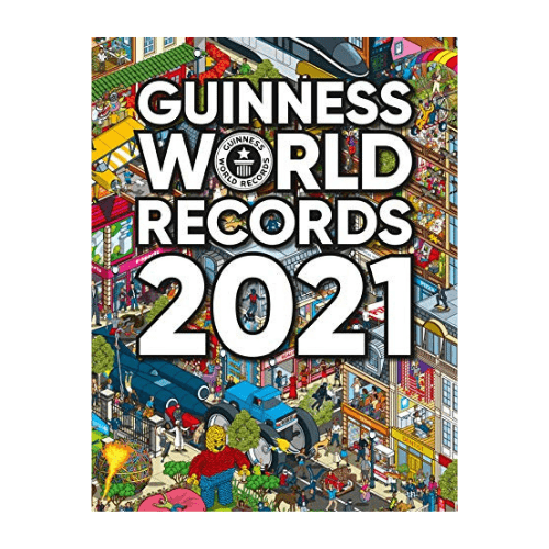 Guinness World Records 2021 Now .97 (Was .95)
