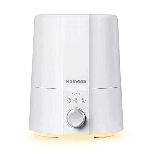 Homech Ultrasonic Cool Mist Humidifiers Now .99 (Was .99)