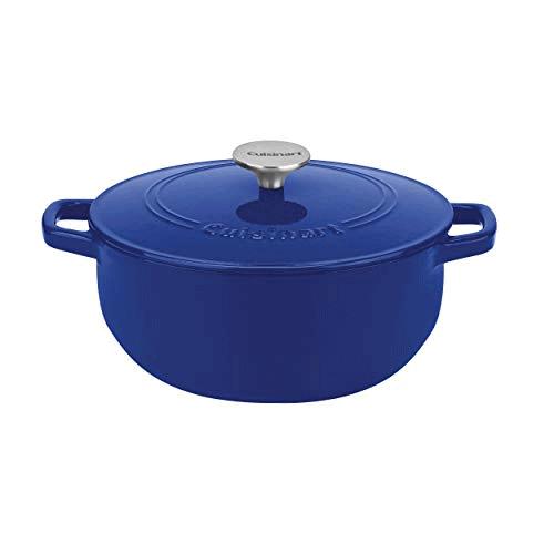 Cuisinart Cast Iron, Cobalt, 5.5, Quart Now .99 (Was .99)