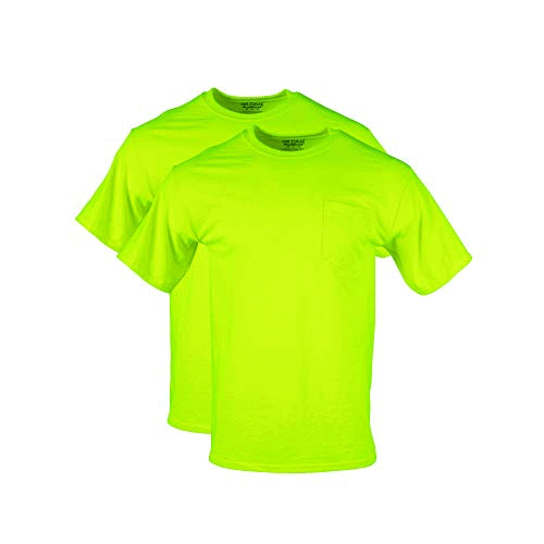 Gildan Men's T-Shirts with Pocket, 2-Pack Now .75 (Was .99)