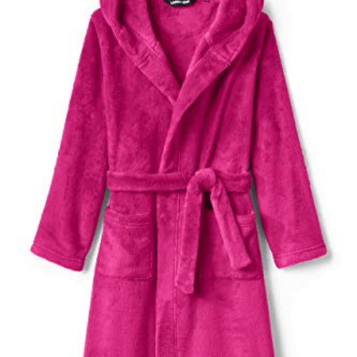 Lands' End Kids Hooded Fleece Robe Now .48 (Was .95)