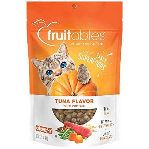 Fruitables Tuna and Pumpkin Crunchy Cat Treats Now .37 (Was .99)