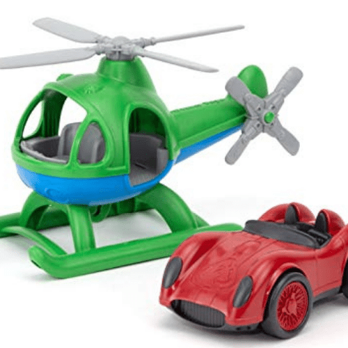 Green Toys Helicopter & Race Car Set Now .39 (Was .99)