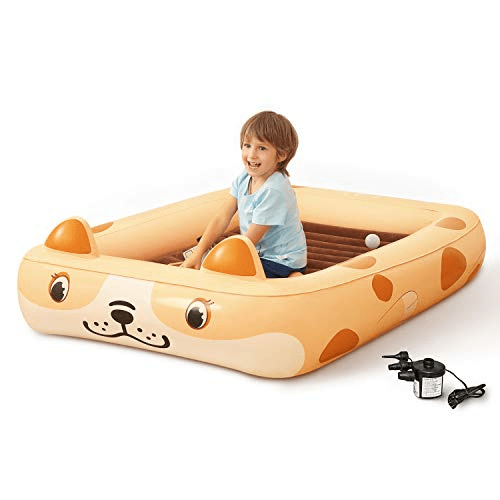 Kids Inflatable Toddler Travel Bed Now .49 (Was .99 )