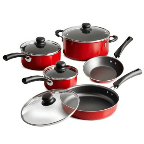 Tramontina 9-Piece Non-stick Cookware Set Now .88 (Was .99)