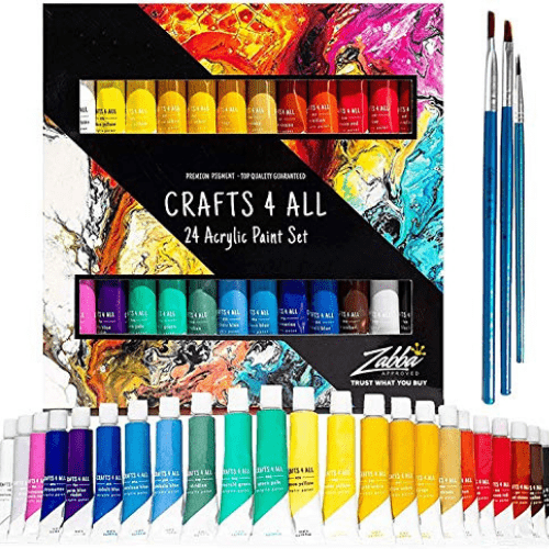 Acrylic Paint Set Now .99 (Was .99)