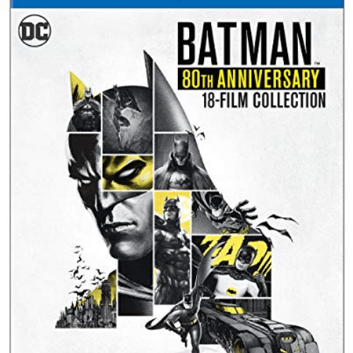 Batman 80th Anniversary Collection (Blu-ray) Now .46 (Was .99)