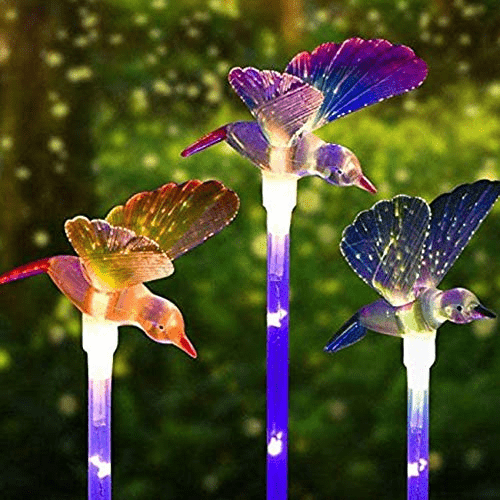 Outdoor Solar Garden Stake Lights Now .88 (Was .99)