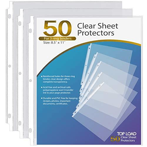 Ktrio Sheet Protectors Now .99 (Was .99)