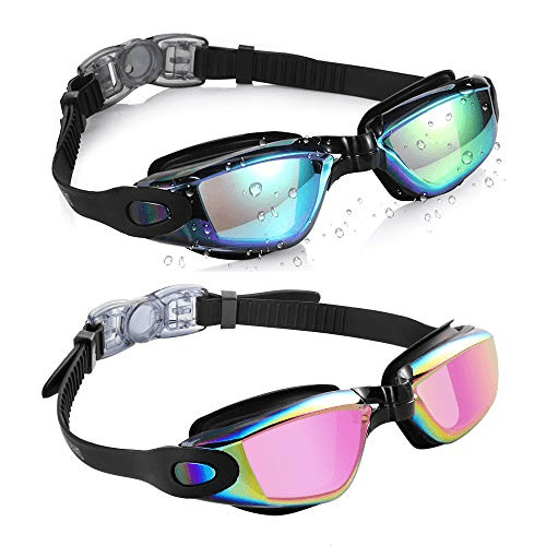 Aegend 2 Pack Swim Goggles Now .99 (Was .99)