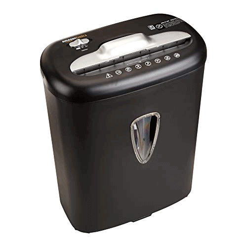AmazonBasics Paper and Credit Card Shredder Now .30 (Was .02)