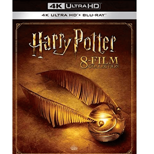 Harry Potter Collection 4K Blu-ray Now .99 (Was 8.99)