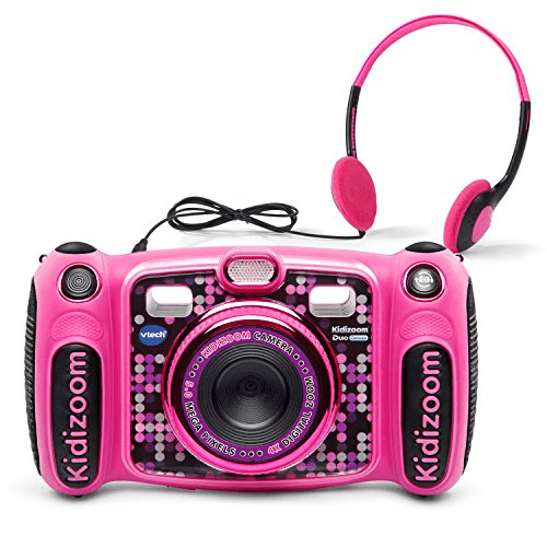 VTech Kidizoom Duo 5.0 Deluxe Digital Selfie Camera with MP3 Player and Headphones, Pink Now .19 (Was .99)