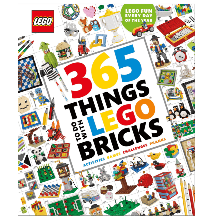 365 Things to Do with LEGO Bricks Book Now .99 (Was .99)
